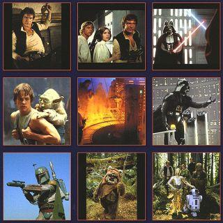 Star Wars Saga 2014 Wall Calendar