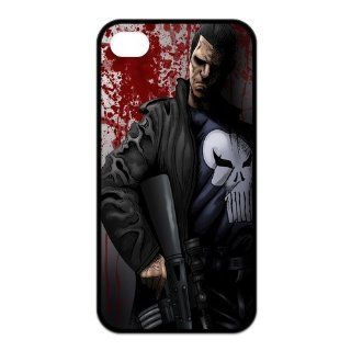 Protective Creative Cases Comic Superhero Punisher Case For Iphone 4 4s With Durable TPU Sides Ip4 AX61302: Cell Phones & Accessories