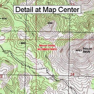 USGS Topographic Quadrangle Map   Mount Baldy, New Mexico (Folded/Waterproof)  Outdoor Recreation Topographic Maps  Sports & Outdoors
