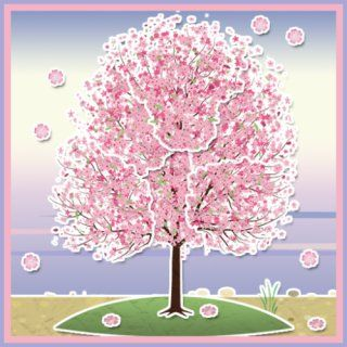 Papercraft Sakura Live Wallpaper: Appstore for Android