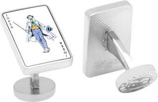 Cufflinks Inc Joker Card Cufflinks
