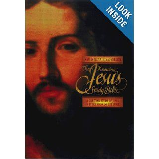 The Knowing Jesus Study Bible A One Year Study of Jesus in Every Book of the Bible (NIV/New International Version) D.Phil. Edward Hindson, Ed.D. Edward Dobson 9780340785218 Books