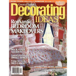 Country Sampler Decorating Ideas Magazine (April, 2003): Mike Morris: Books