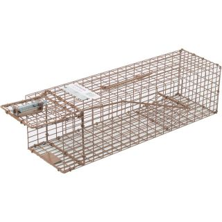 Kness Kage-All Live Animal Cage Trap — Chipmunk Trap, Model# 150-0-004  Animal Control