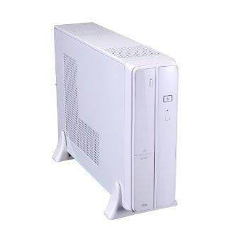Xion mATX/ITX Slim USB 3.0 Desktop Case with 5 In 1 Card Reader and 300 Watt Power Supply XON 720P_WT   White: Computers & Accessories