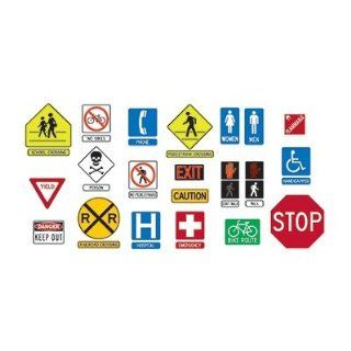 Safety Signs & Symbols: Toys & Games