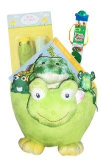 Frog Lover's Gift Basket   Perfect for Easter, Birthdays, Christmas, or Other Occasion: Toys & Games