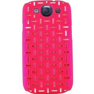For Samsung Galaxy S Iii I747 Hot Pink Cut Out Maze Accessories Case: Cell Phones & Accessories