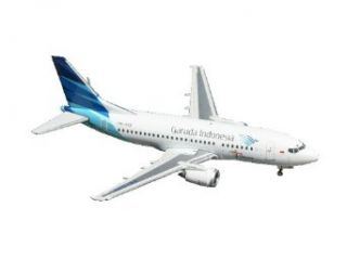 Gemini Jets Garuda Indonesia B737 500 (New Livery) 1/400 Scale: Toys & Games