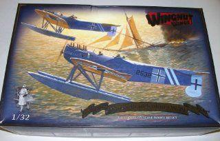Wingnut Wings Hansa brandenburg W.29   1/32 Scale Model Airplane: Toys & Games