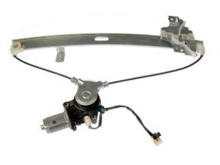 Dorman 748 056 Rear Driver Side Replacement Power Window Regulator with Motor for Isuzu Rodeo Automotive