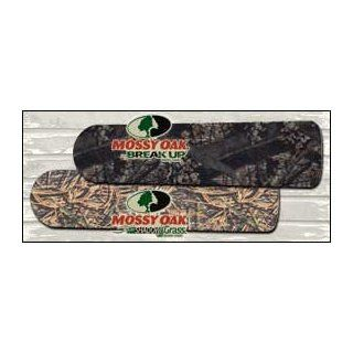 John Marshall Design Indoor Reversible Camo Ceiling Fan Blades (Mossy Oak/SHDW Grass): Sports & Outdoors