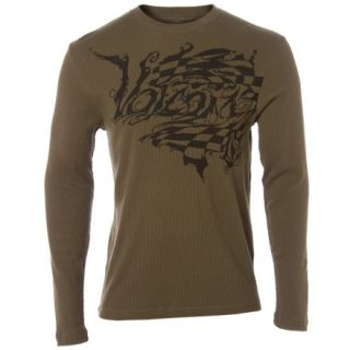 Volcom French Script Thermal   Long Sleeve   Mens