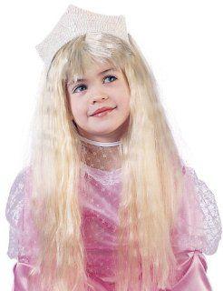 Fun World Girls Long Blonde Wig Glamour Princess Hair Toys & Games