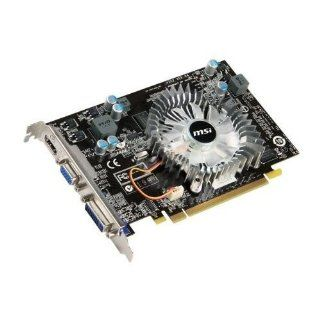 MSI nVidia GeForce GT 220 512 MB DDR2 VGA/DVI/HDMI PCI Express Video Card N220GT MD512: Electronics