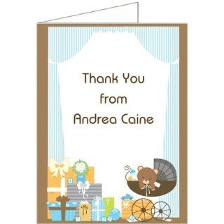 Baby's Room   Boy Baby Shower Thank You Cards   Set of 20 Baby