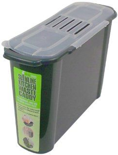 Bosmere K779 Slim Kitchen Recycled Plastic Compost Caddy  Indoor Compost Bins  Patio, Lawn & Garden