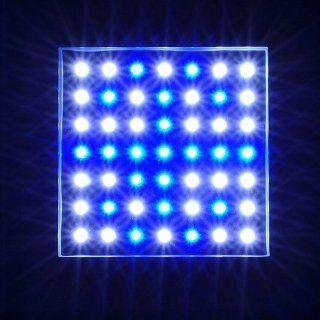 50 Watt High Power WHITE + BLUE LED Aquarium Reef corals grow light, 2514WB  Plant Growing Light Fixtures  Patio, Lawn & Garden
