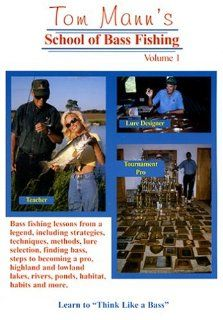 Tom Mann's School of Bass Fishing   Volume One: Tom Mann, Angie Marsh: Movies & TV
