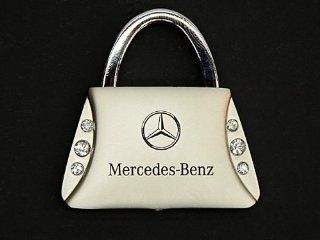 Mercedes Key Ring (Purse w/ Jewels) Chain Keyfob Hodler _ for _ r107 w123 w124 w126 r129 w140 r170 r171 w201 w202 w203 w209 w215 w210 w211 w212 w220 w221 r251: Automotive