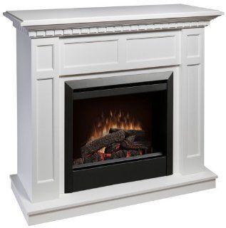Dimplex Caprice Electric Fireplace Dfp4743w White   Smokeless Fireplaces