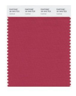 PANTONE SMART 18 1643X Color Swatch Card, Cardinal   Wall Decor Stickers