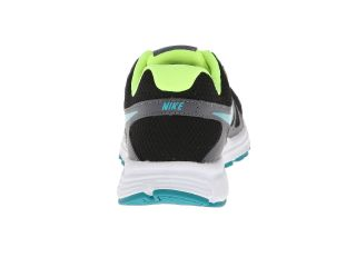 Nike Kids Revolution 2 (Big Kid) Black/Dark Grey/White/Turbo Green