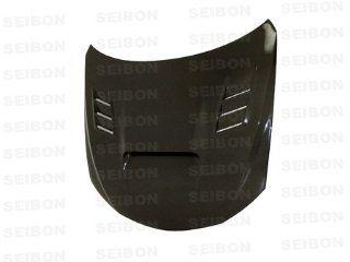 Seibon Carbon Fiber CW Style Hood Subaru WRX STI 08 09: Automotive