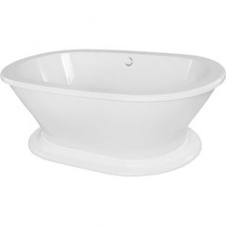 Hydro Systems Monet 7040 Freestanding Tub