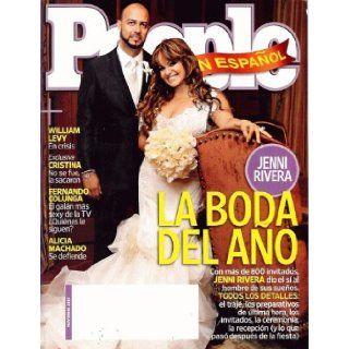 People En Espanol 2010 Noviembre   La Boda Del Ano (Jenni Rivera): People: Books