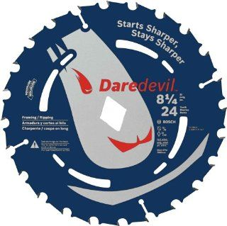 Bosch DCB824 Daredevil 8 1/4 Inch 24 Tooth Framing Ripping Circular Saw Blade