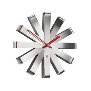 Umbra 12 Ribbon Wall Clock 118070 590