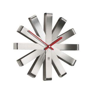 Umbra 12 Ribbon Wall Clock 118070 590