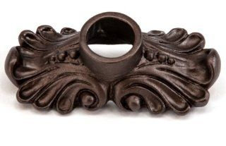 Carpe Diem Hardware 842 12 Acanthus Escutcheon, Bronze   Cabinet And Furniture Back Plates