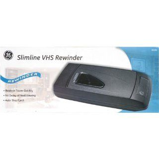 General Electric Slimline 1 Way VHS Rewinder, #85201: Electronics