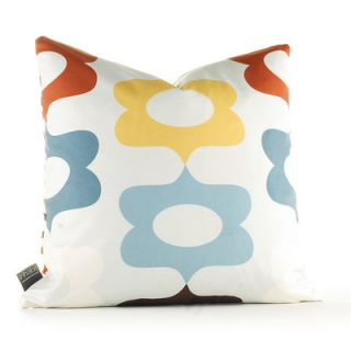 Inhabit Aequorea Laugh Synthetic Pillow LAGCFxxP Size: 18 x 18, Color: Corn