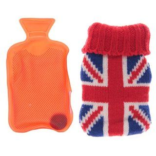 Hand Warmers Mini Hot Water Bottle Hand Warmer   Union Jack   London Water Bottle