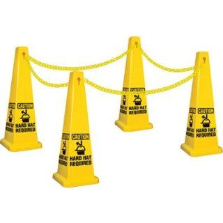Emedco Hard Hat Required Safety Cone Kit Science Lab Safety Cones Industrial & Scientific