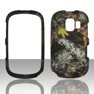 2D Camo Stem Mossy Oak Alcatel 871A / Alcatel One Touch OT871A Prepaid Go Phone (AT&T) Case Cover Phone Snap on Cover Cases Protector Faceplates: Cell Phones & Accessories