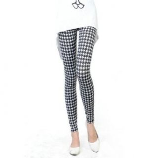 New 2013 Winter/autumn Women Lady Girls Houndstooth Leggings