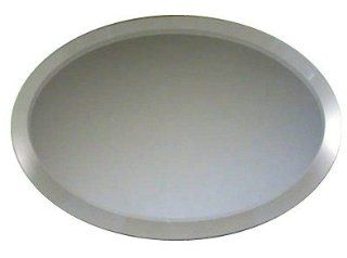 "Shop Elegant Reflections Premium 8""x12"" Oval Mirrored Centerpiece at the  Home D�cor Store"