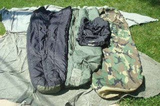 Military Modular Sleep System 4 Piece with Goretex Bivy Cover and Carry Sack : Sleep Back Gore Tex : Sports & Outdoors