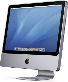 "Apple iMac Desktop with 24"" Display MA878LL/A (2.4 GHz Intel Core 2 Duo, 1 GB RAM, 320 GB Hard Drive, SuperDrive) : Desktop Computers : Computers & Accessories"