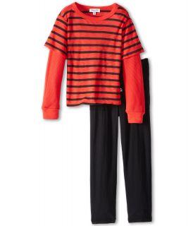 Splendid Littles Boys Black Venice Stripe Set Little Kids