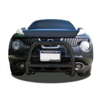 Black Horse Nissan Juke Bull Bar Grill Guard Black  Fits 2011 2012 2013 2014 Nissan Juke Automotive