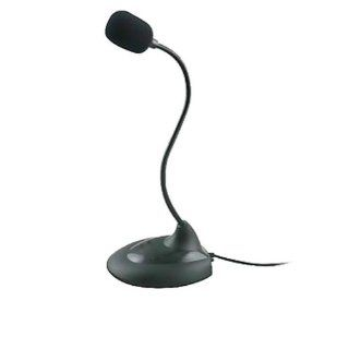 Ayangyang Fahion Mini Goose Neck High Sensitively Flexible Microphone with Switch for Loptop/ Desktop: Computers & Accessories