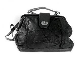 Genuine Leather Purse Handbag   L 881 Tote Handbags Clothing