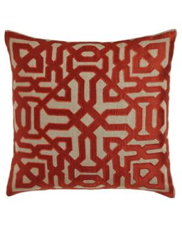 Marrakesh Maze Pillow   Bandhini