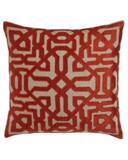 Marrakesh Maze Pillow   Bandhini