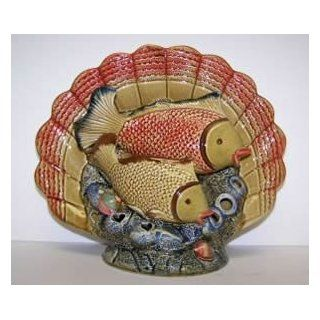 J.D. Yeatts 910 61887 Fish Platter Candle Holder 11in